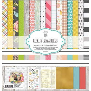 Fancy Pants LIFE IS BEAUTIFUL Collection Kit 12 x 12 2649*