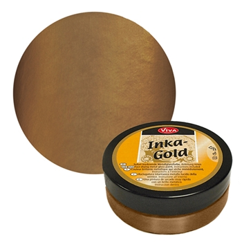 Viva Decor BROWN GOLD Inka Gold Beeswax Polish 2.2oz 612481