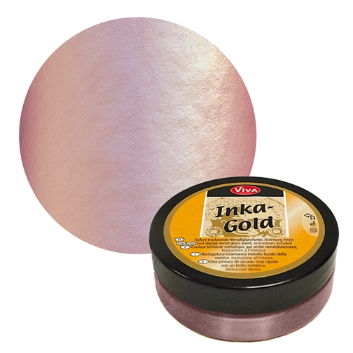 Viva Decor ROSE QUARTZ Inka Gold Beeswax Polish 2.2oz 616960 zoom image