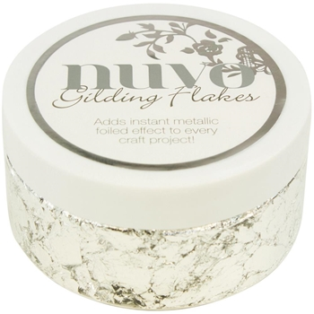 Tonic SILVER BULLION Nuvo Gilding Flakes 851N