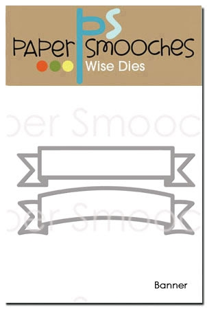 Paper Smooches BANNER Wise Dies J2D326 Preview Image