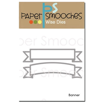 Paper Smooches BANNER Wise Dies J2D326