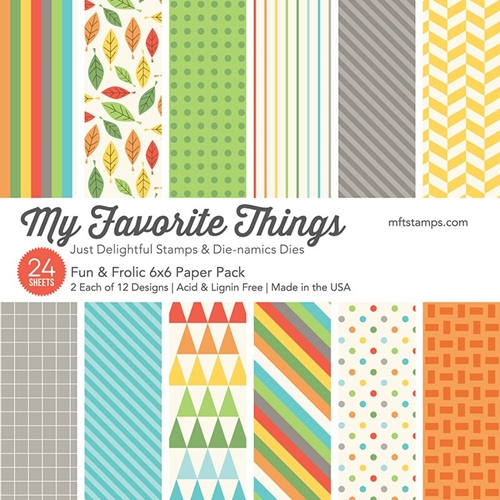 My Favorite Things Fun and Frolic 6x6 Paper Pad