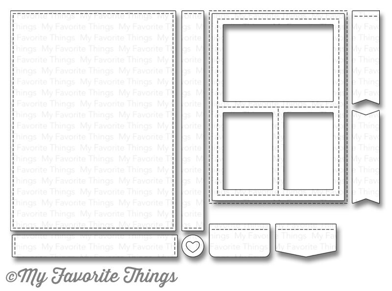 My Favorite Things BLUEPRINTS 29 Die-Namics MFT914 zoom image