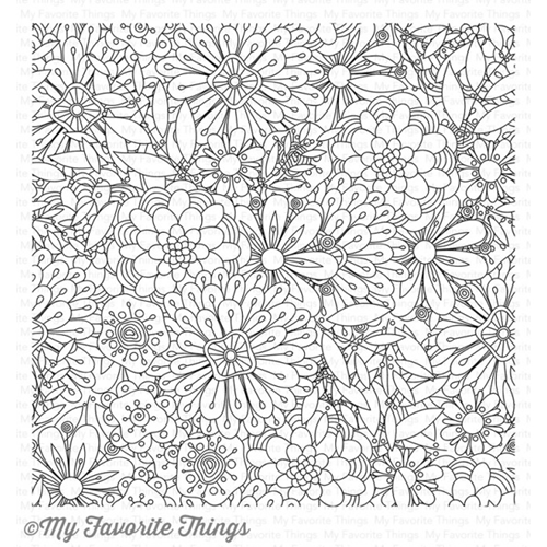 My Favorite Things BUNDLES OF BLOSSOMS Cling Stamp BG76 Preview Image