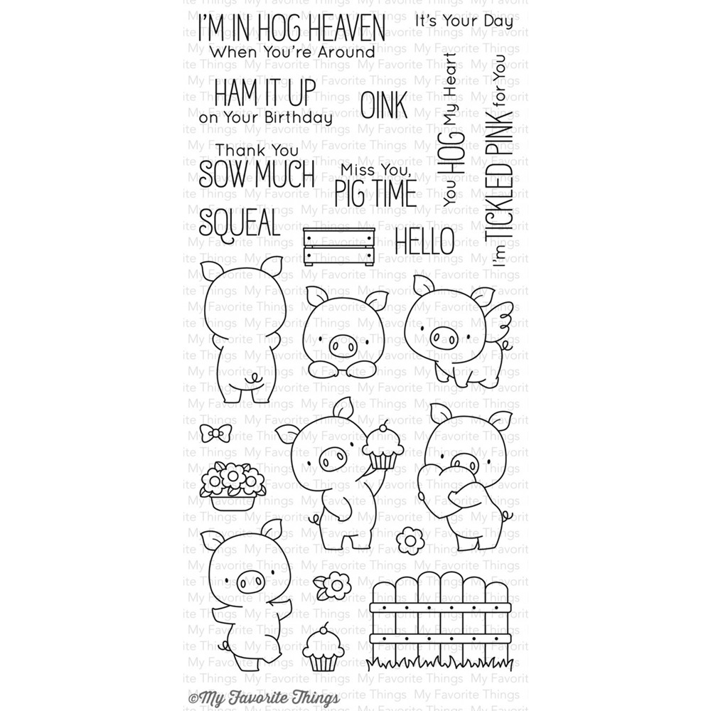My Favorite Things HOG HEAVEN Clear Stamps BB35 zoom image