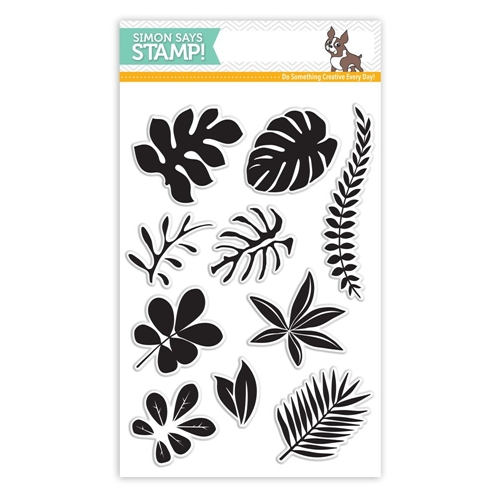 Simon Says Clear Stamps TROPICAL LEAVES SSS101620 Among The Stars Preview Image