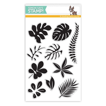 RESERVE Simon Says Clear Stamps TROPICAL LEAVES SSS101620 Among The Stars