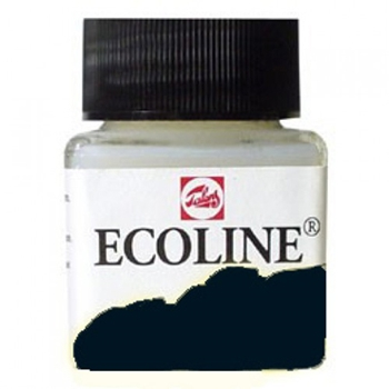 Royal Talens ECOLINE LIQUID WATERCOLOR BLACK 11257000*
