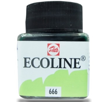 Royal Talens ECOLINE LIQUID WATERCOLOR PASTEL GREEN 11256660*