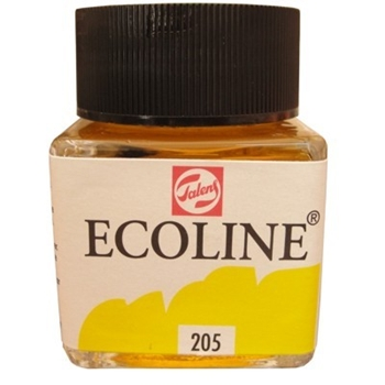 Royal Talens ECOLINE LIQUID WATERCOLOR LEMON YELLOW 11252050*