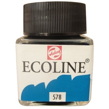 Royal Talens ECOLINE LIQUID WATERCOLOR SKY BLUE 11255780*
