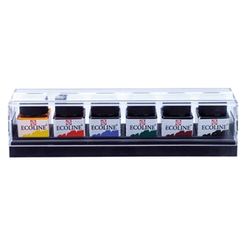 Royal Talens ECOLINE LIQUID WATERCOLORS 6 Set 11802506*