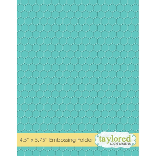 Taylored Expressions HONEYCOMB Embossing Folder TEEF56 Preview Image