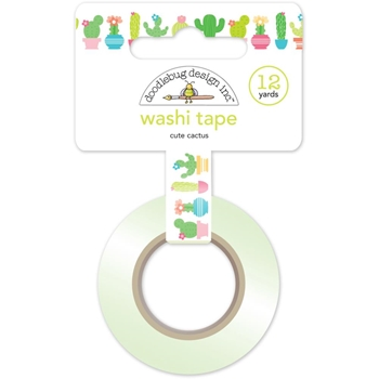 Doodlebug CUTE CACTUS Fun In The Sun Washi Tape 5215