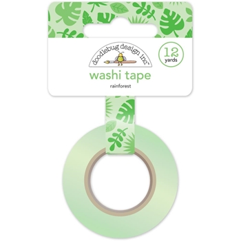 Doodlebug RAINFOREST Fun In The Sun Washi Tape 5214