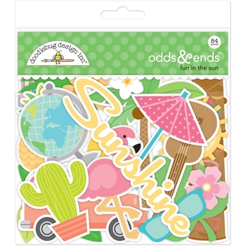 Doodlebug FUN IN THE SUN Odds and Ends Die Cuts 5243