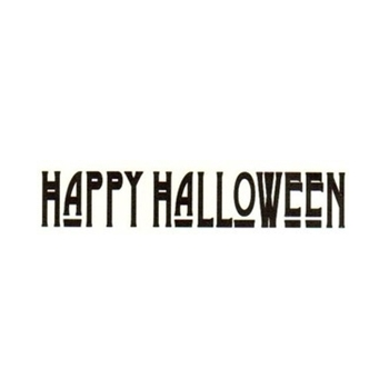 Tim Holtz Rubber Stamp HAPPY HALLOWEEN Stampers Anonymous G3-1345