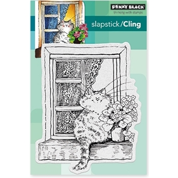 Penny Black Cling Stamp THE LOOKOUT! Set 40-461