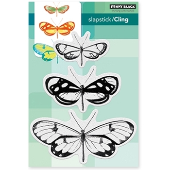Penny Black Cling Stamp BUTTERFLY TRIO 40-473