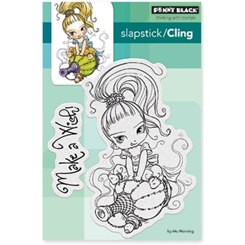 Penny Black Cling Stamp LITTLE GINI 40-478