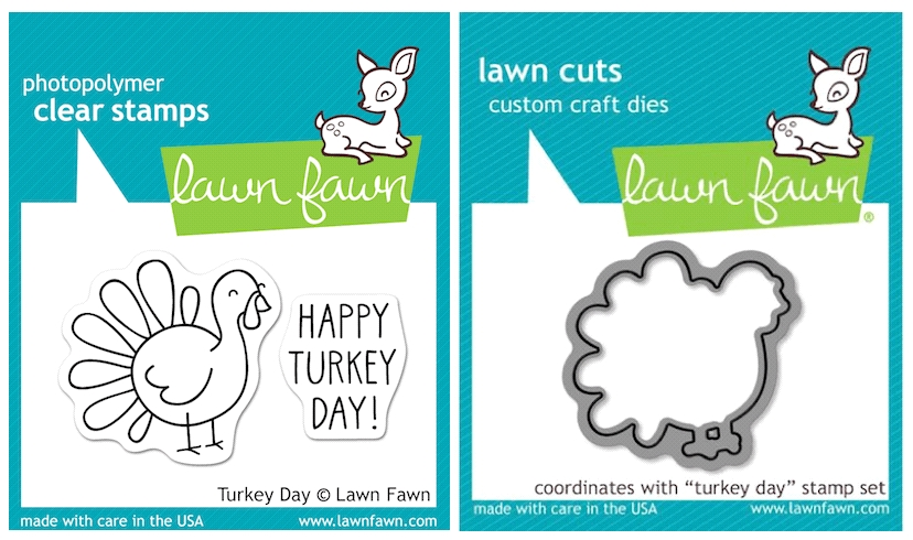 Lawn Fawn SET LFSETTD TURKEY DAY Clear Stamps and Dies zoom image