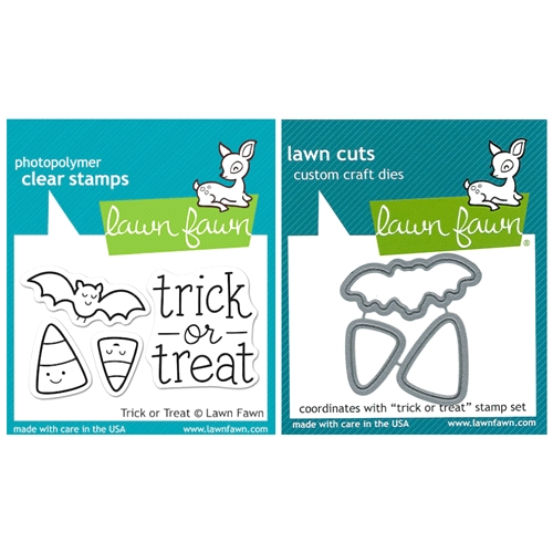Lawn Fawn SET LFSETTOT TRICK OR TREAT Clear Stamps and Dies Preview Image