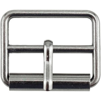 Tim Holtz Eclectic Elements GUN METAL 25mm Medium Metal Buckle 015809