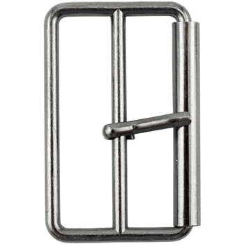 Tim Holtz Eclectic Elements GUN METAL 40mm Large Metal Buckle 016110