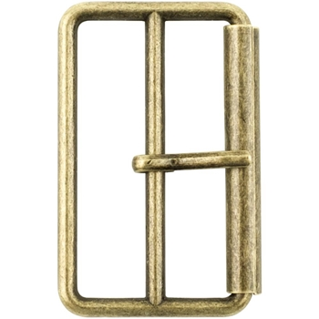 Tim Holtz Eclectic Elements ANTIQUE BRASS 40mm Large Metal Buckle 016103