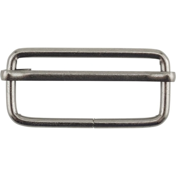 Tim Holtz Eclectic Elements ANTIQUE BRASS 38mm Adjustable Bar Buckle 015847