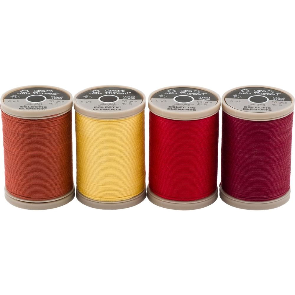 Tim Holtz Eclectic Elements 015250 Craft Thread 50yd Spools zoom image
