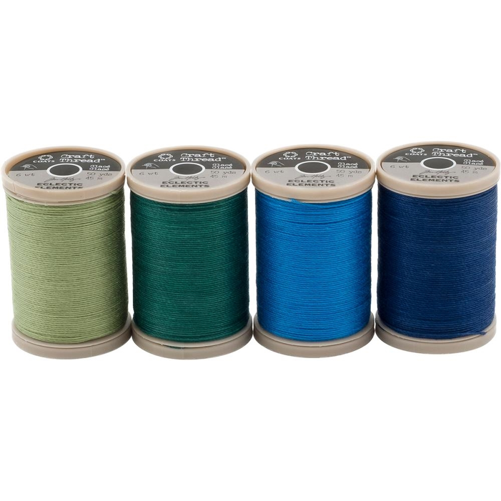 Tim Holtz Eclectic Elements 015267 Craft Thread 50yd Spools zoom image