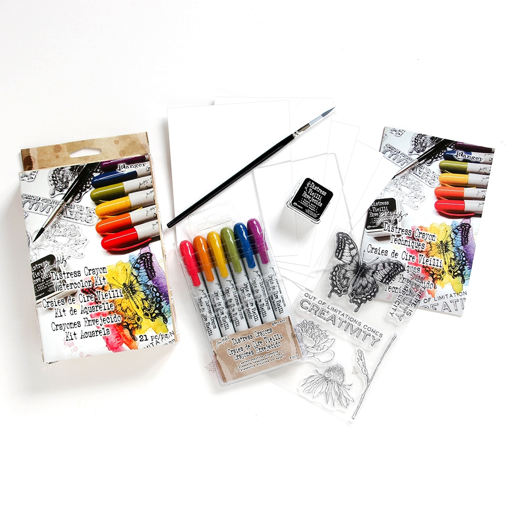Tim Holtz DISTRESS WATERCOLOR KIT Ranger TDK48206 zoom image