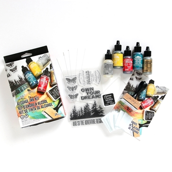 Tim Holtz DISTRESS ALCOHOL INK KIT Ranger TDK48213