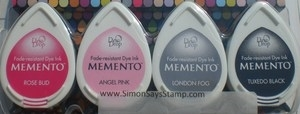 Memento GIRLS NIGHT OUT 4 Dew Drop Ink Pads MD-100-006*