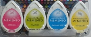 Memento BEACH PARTY 4 Dew Drop Ink Pads MD-100-012
