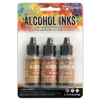 Tim Holtz Alcohol Ink Set CABIN CUPBOARD Adirondack Ranger TIM20691