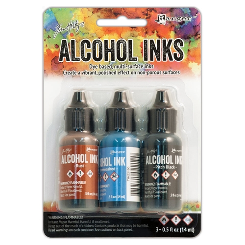 Tim Holtz Alcohol Ink Set MINER'S LANTERN Ranger TIM20721 Preview Image
