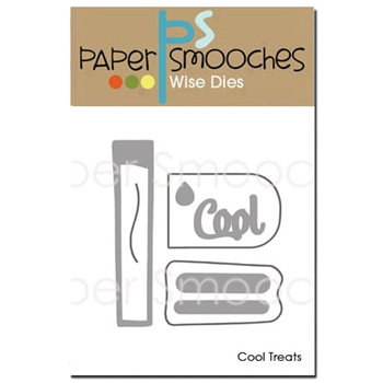 Paper Smooches COOL TREATS Wise Dies J3D331