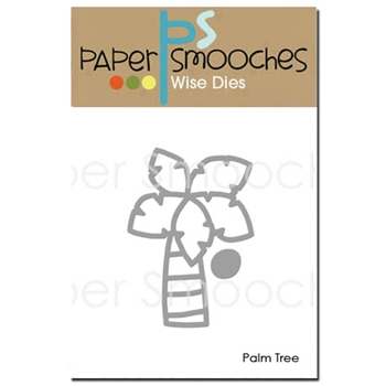 Paper Smooches PALM TREE Wise Dies J3D334