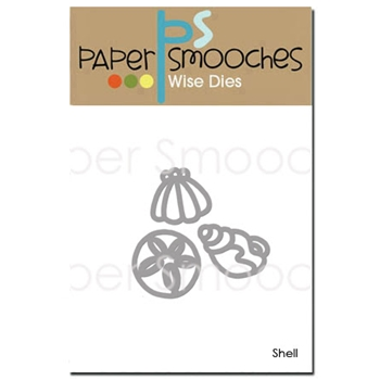 Paper Smooches SHELLS Wise Dies J3D335
