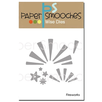 Paper Smooches FIREWORKS Wise Dies J3D332