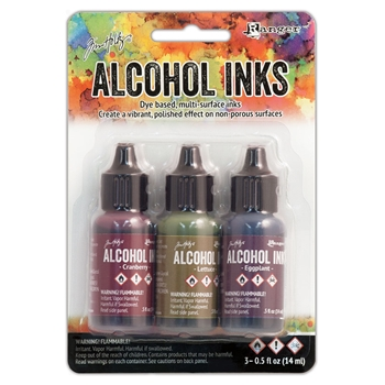Tim Holtz Alcohol Ink Set FARMER'S MARKET Ranger TIM19763