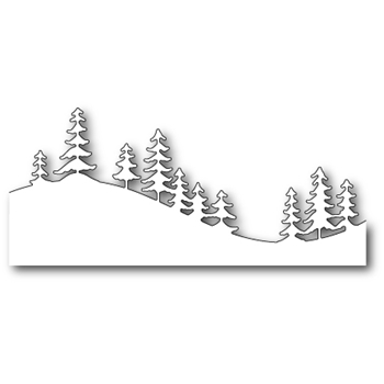 Memory Box FRESH PINE CURVED BORDER Craft Die 99503