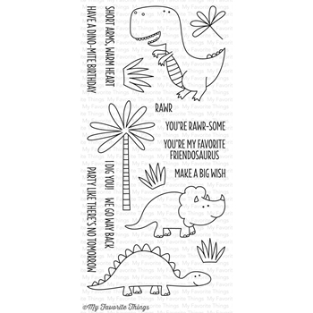 My Favorite Things YOU'RE RAWR-SOME Clear Stamps CS132
