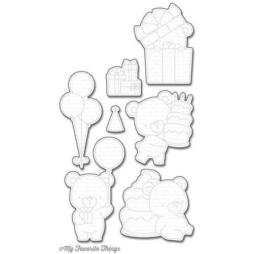 My Favorite Things BEARY SPECIAL BIRTHDAY Die-Namics MFT936 Preview Image