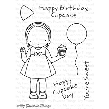 Pure Innocence CUPCAKE DAY Clear Stamps MFT PI252