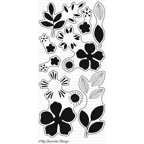 My Favorite Things FLASHY FLORALS Clear Stamps CS127* Preview Image