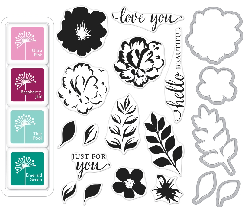 Hero Arts Color Layering FOR YOU FLOWERS BUNDLE SB113 zoom image